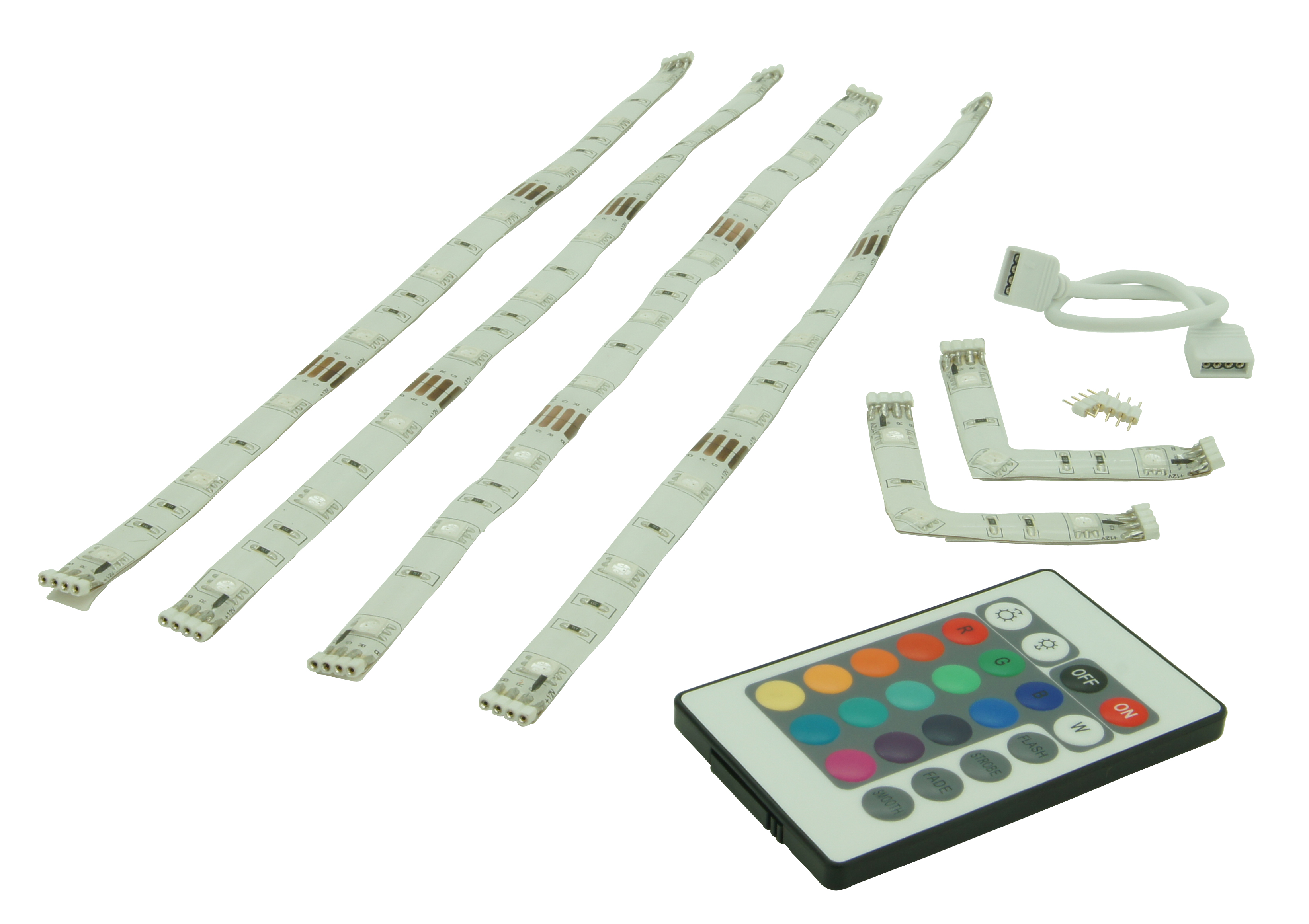 led strip rgb 4x60cm afst bed ip20