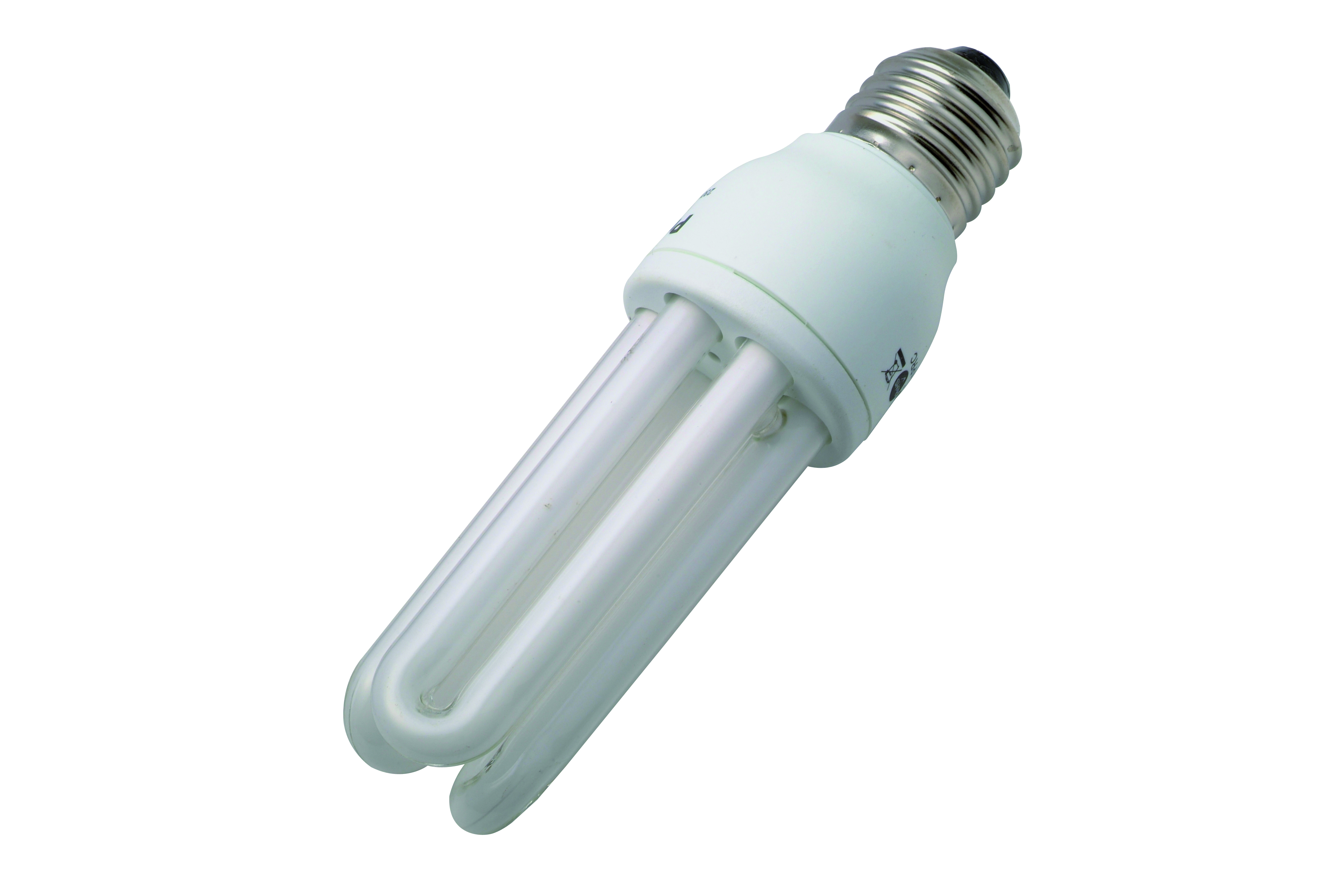 Compact fluorescent tube E27 11W 3 pieces