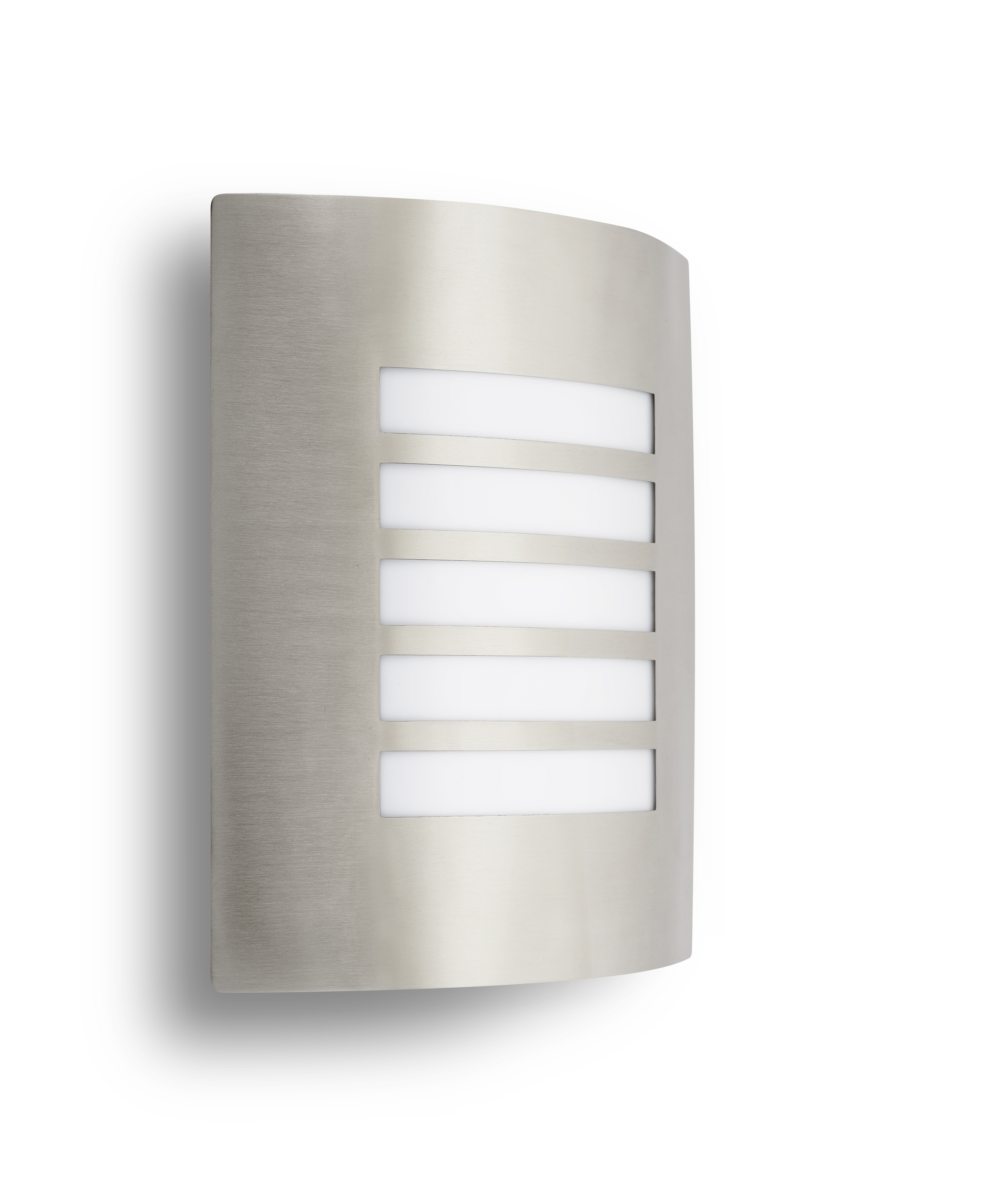 Wall light 1xE27 stainless steel