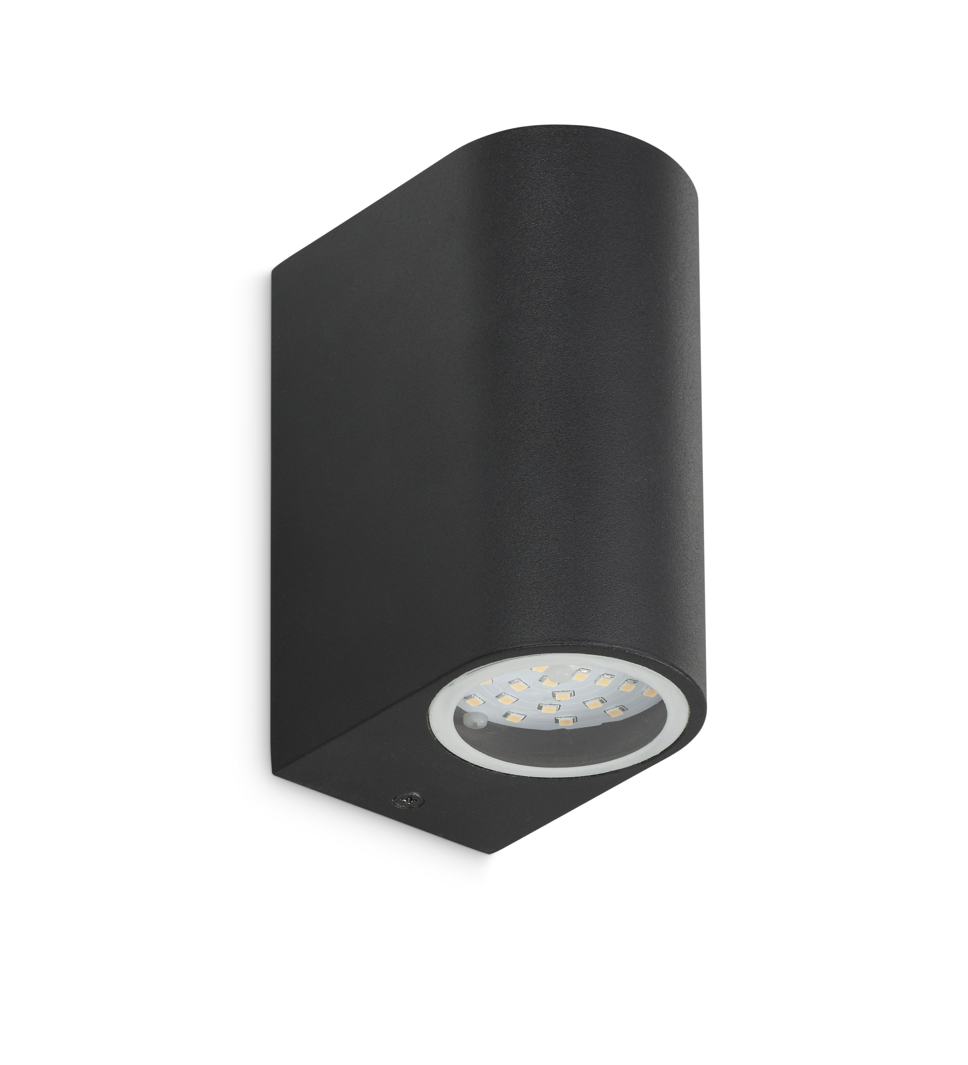 Wall light Up/Down LED integrated 2x3W black