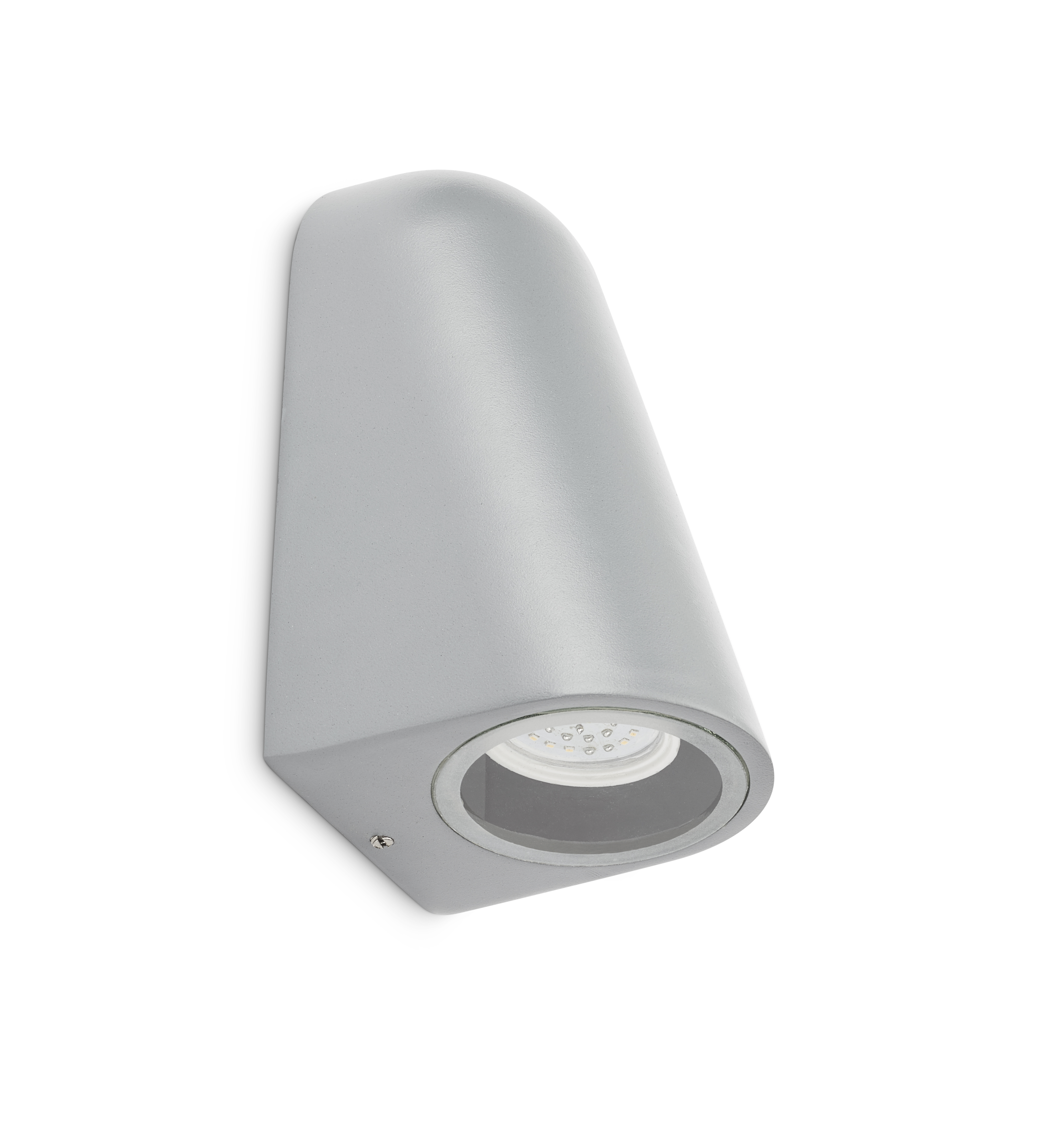 Wall light LED GU10 4W alu